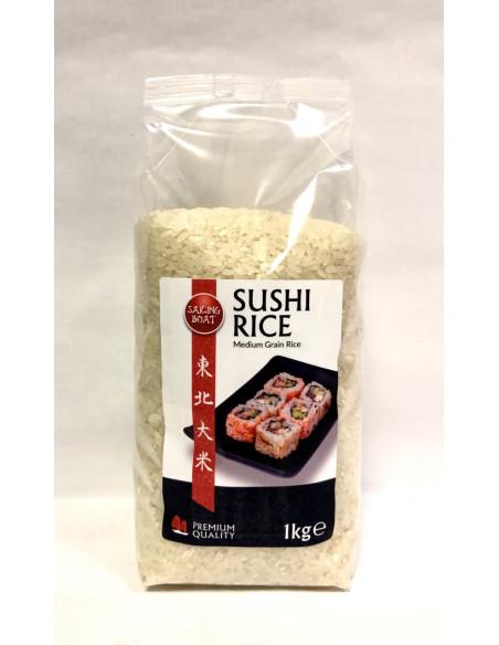 SAILING BOAT SUSHI RICE MEDIUM GRAIN RICE - 1KG