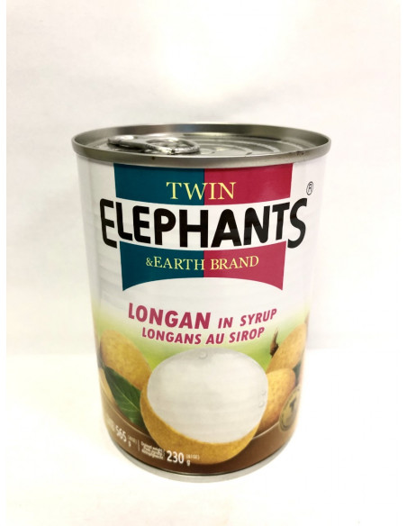 T.E LONGAN IN SYRUP - 565g