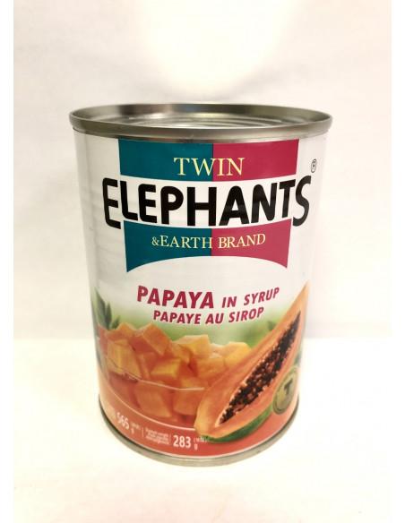 T.E PAPAYA CHUNKS IN SYRUP - 565g