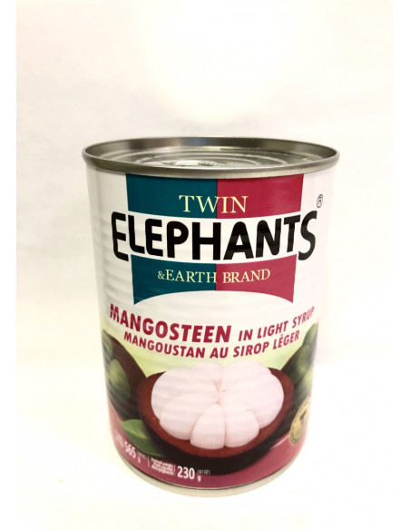 T.E MANGOSTEEN WHOLE IN LIGHT SYRUP - 565g