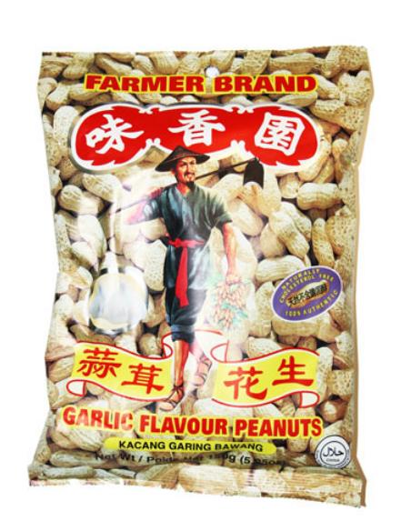 Farmer Brand Garlic Peanuts - 150g
