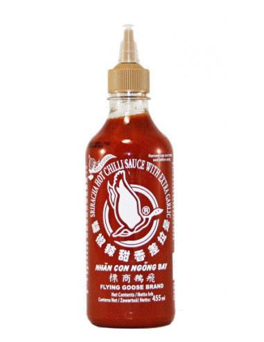 Flying Goose Sriracha Chilli Sauce Extra Garlic (pb)