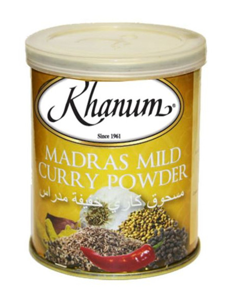 Khanum Madras Mild Curry Powder - 100g