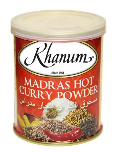 Khanum Madras Hot Curry Powder - 100g