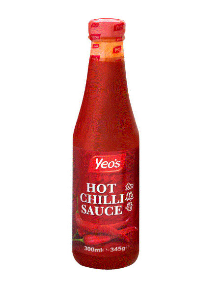 Yeo's Hot Chilli Sauce - 300ml