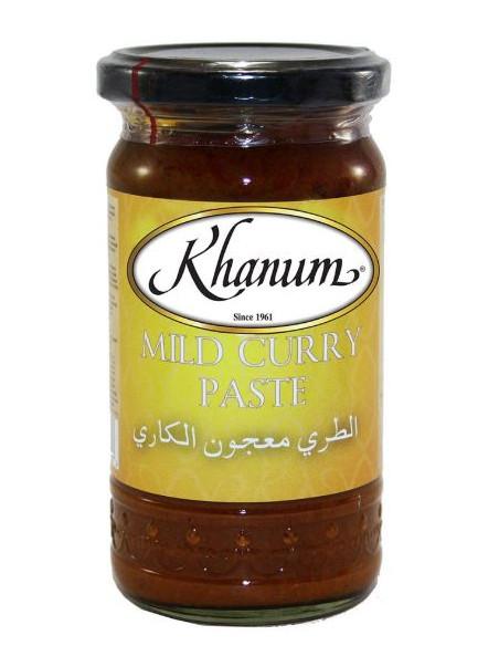 Khanum Mild Curry Paste - 300g