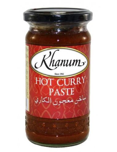 Khanum Hot Curry Paste - 300g