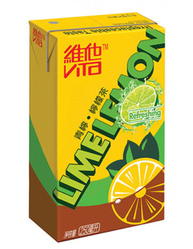 Vita Lime Lemon Tea - 6x250ml