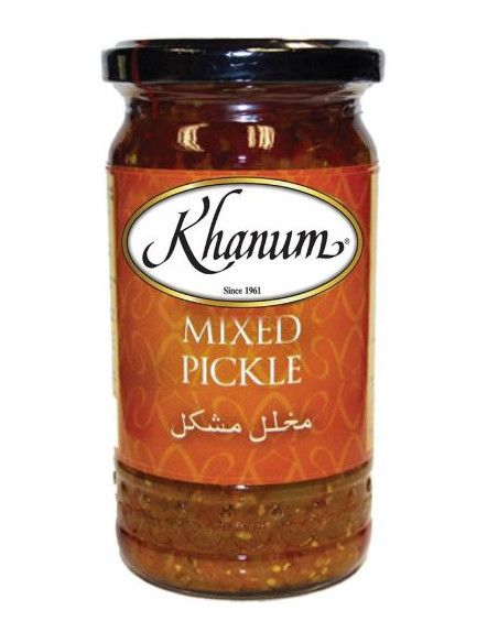 Khanum Mixed Pickle - 300g