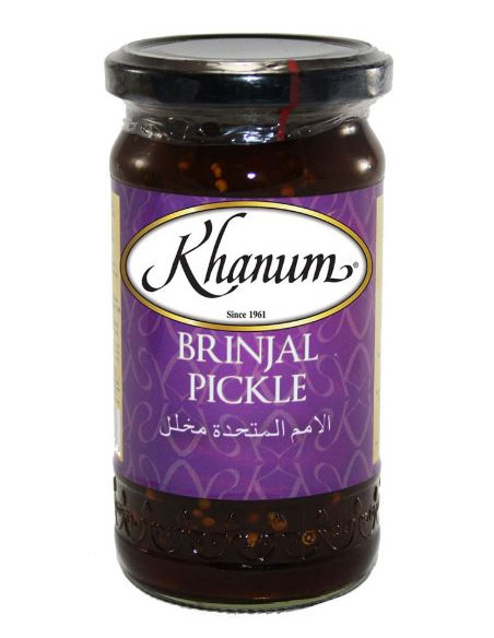 Khanum Brinjal Pickle - 300g