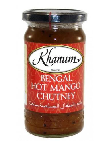 Khanum Bengal Hot Mango Chutney - 350g