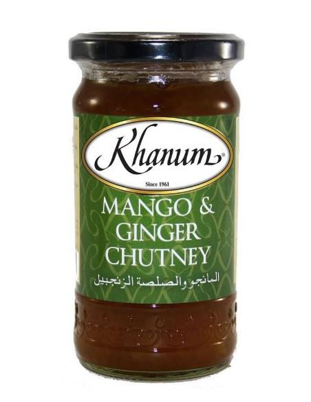 Khanum Mango & Ginger Chutney - 350g