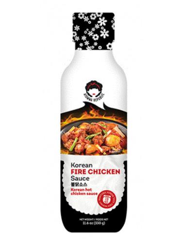 Ajumma Republic Fire Chicken Sauce -...