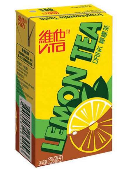 Vitasoy Lemon Tea - 6x250ml