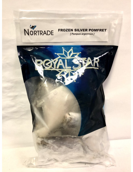 NORTRADE ROYAL STAR FROZEN SILVER POMFRET - 1KG
