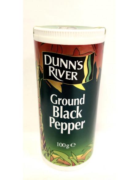 DUNN'S RIVER GROUND BLACK PEPPER - 100g
