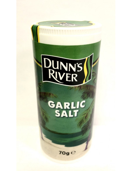 DUNN'S RIVER GARLIC SALT - 70g
