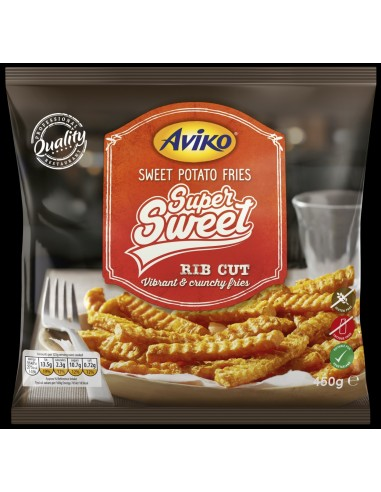 AVIKO SWEET POTATO FRIES - 450gm