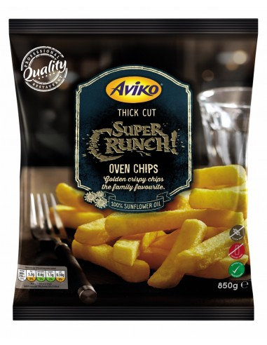 AVIKO SUPER CRUNCH THICK CUT - 850gm