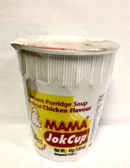 MAMA JOK CUP RICE PORRIDGE CHICKEN FLAVOUR - 45g