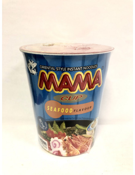 MAMA CUP NOODLE SEAFOOD FLAVOUR - 70g