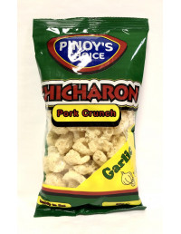 P.C CHICHARON GARLIC PORK CRUNCH - 80g
