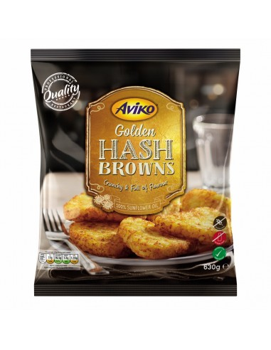 AVIKO GOLDEN HASH BROWNS - 630gm