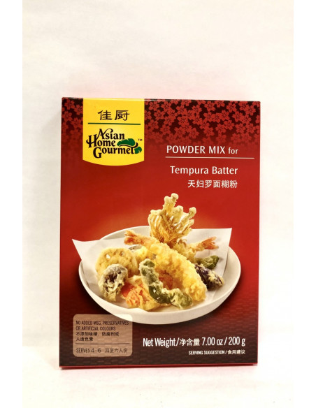 ASIAN HOME GOURMET POWDER MIX FOR TEMPURA BATTER - 200g