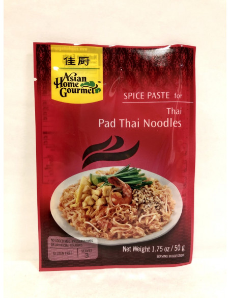 ASIAN HOME GOURMET SPICE PASTE FOR PAD THAI NOODLES - 50g