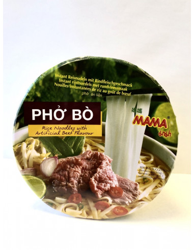MAMA INSTANT BOWL VIETNAMESE PHO BO BEEF FLAVOUR - 65g