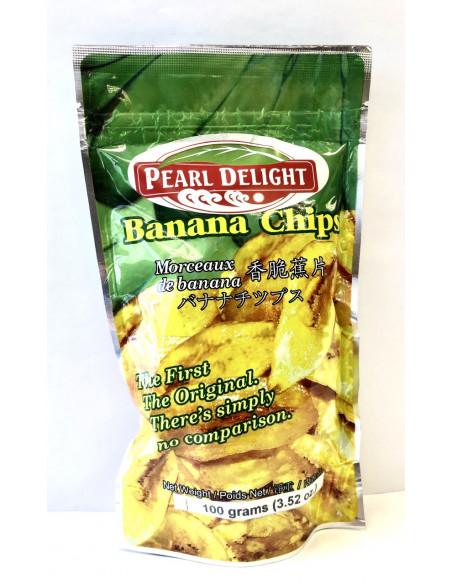 PEARL DELIGHT BANANA CHIPS - 100g