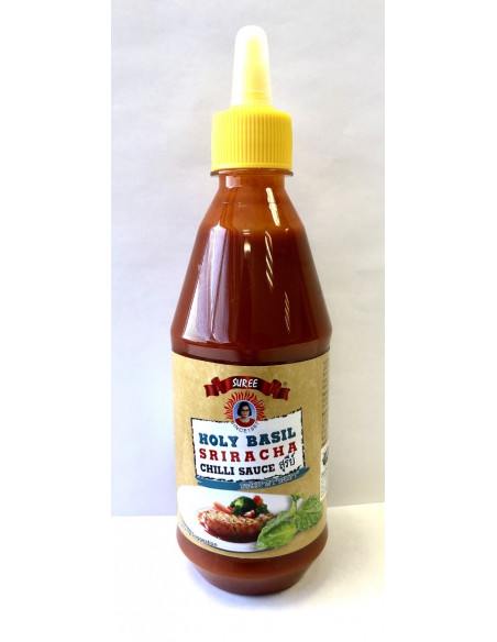 SUREE SRIRACHA CHILLI SAUCE HOLY BASIL - 435ml