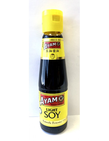 AYAM LIGHT SOY SAUCE - 210ml