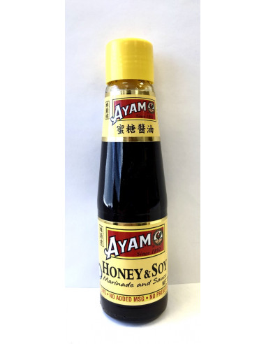 AYAM HONEY&SOY MARINADE AND SAUCE - 210ml