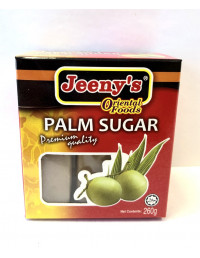 JEENY'S WHITE PALM SUGAR CUBES - 260g