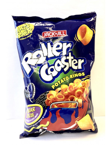 JACK & JILL ROLLER COASTER CHEDDAR CHEESE FLAVOUR PARTY PACK - 225g