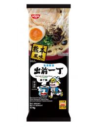Nissin Demae Ramen Bar Noodle - Black Garlic Oil Tonkotsu Flavour - 174g