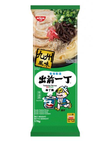 Nissin Demae Ramen Bar Noodle - Kyushu Tonkotsu Flavour - 176g