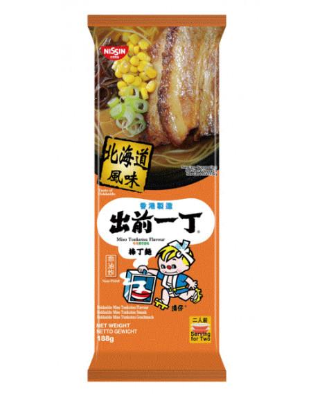 Nissin Demae Ramen Bar Noodle - Hokkaido Miso Tonkotsu Flavour - 188g