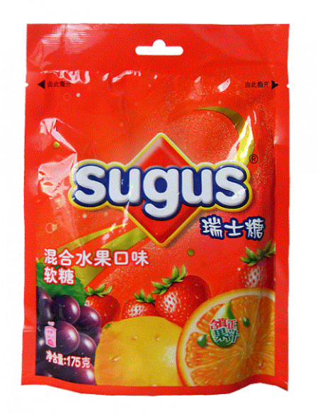Sugus Suchard Candy - Mix Fruit Flavour - 175g
