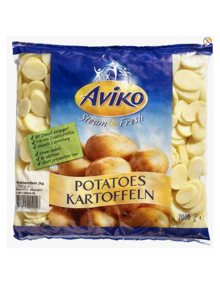 Potato Slices - 2.5kg - Aviko