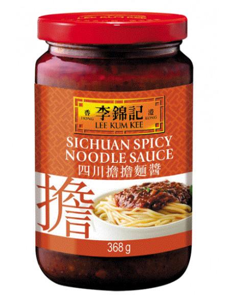LKK Sichuan Spicy Noodle Sauce - 368g
