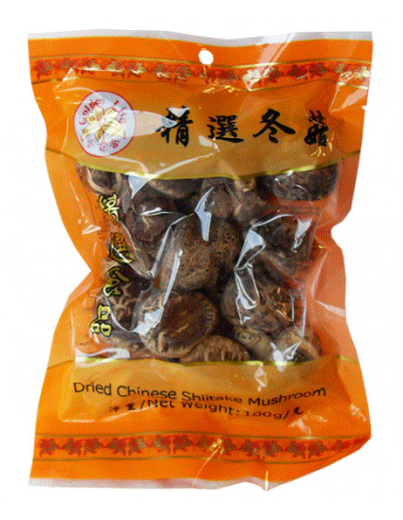GOLDEN LILY Dried Mushrooms - 100g
