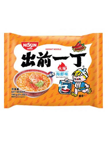 NISSIN Demae Ramen Spicy Seafood Flavour - 100g