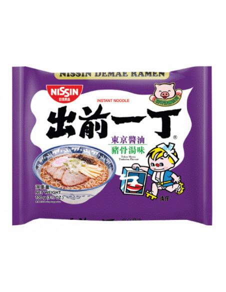 NISSIN Demae Ramen Tokyo Shoyu Tonkotsu Flavour - 100g