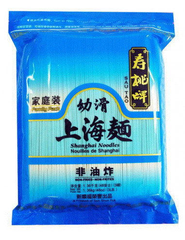 SAU TAO Shanghai Noodle FAMILY PACK - 1.36KG
