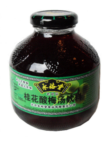 YYT Sour Plum Drink - Osmanthus Flavour - 300ml