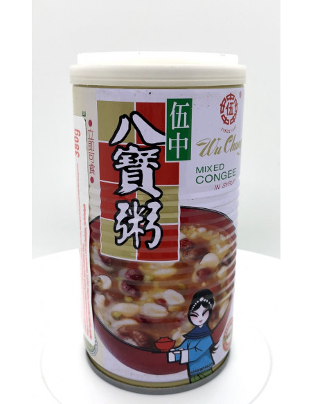 WU CHUNG SWEET SOUP WITH LEGUMES, CEREALS AND SEEDS - 380g