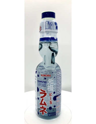 KIMURA RAMUNE CARBONATED SOFT DRINK ORIGINAL FLAVOUR - 200ml