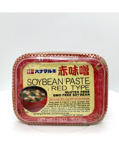HANAMARUKI SOYBEAN PASTE - 500g